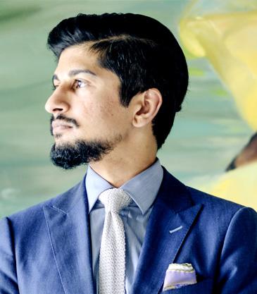 Raj Jr Headshot