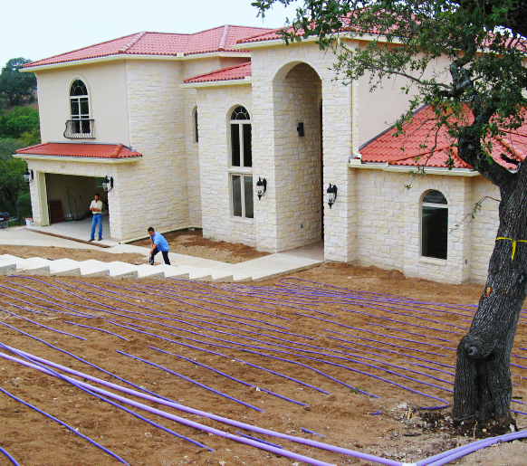 residential septic tank design and installation in Central Texas