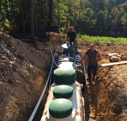 Fuji Clean USA onsite wastewater treatment system
